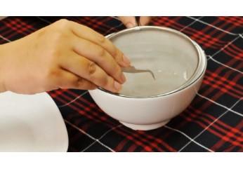 Cách làm sạch tổ yến thô